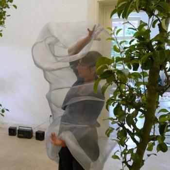 "Barbaras forest"", audiovisuelle Installation"